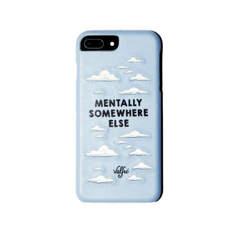 MENTALLY SOMEWHERE ELSE iPhone Case