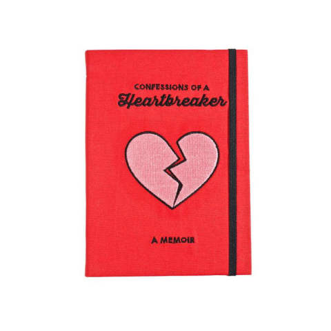 HEARTBREAKER CONFESSIONS JOURNAL (note book)
