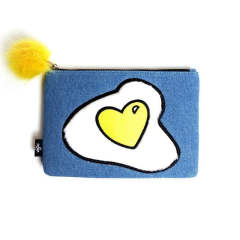SUNNY SIDE UP CLUTCH (clutch bag)